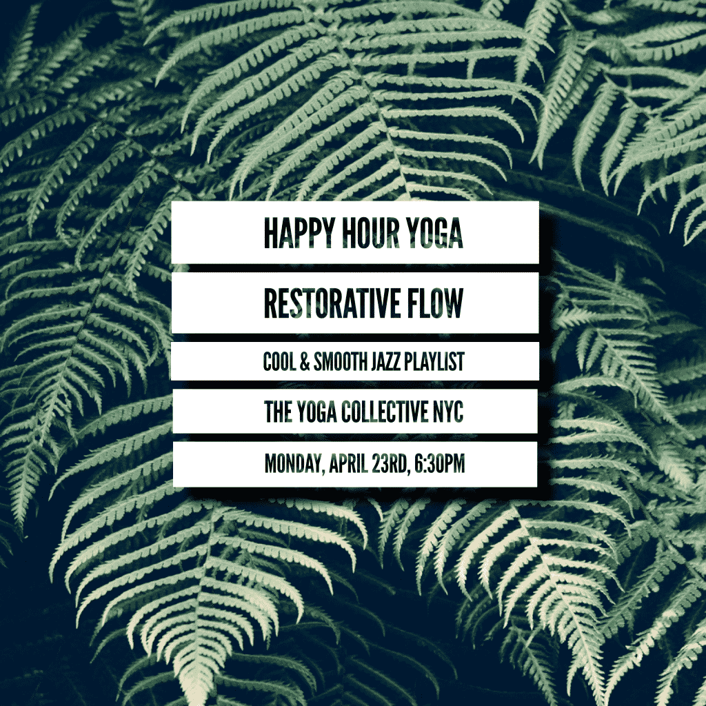 Happy Hour Yoga | Restorative
