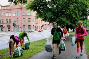 Plogging in Sweden