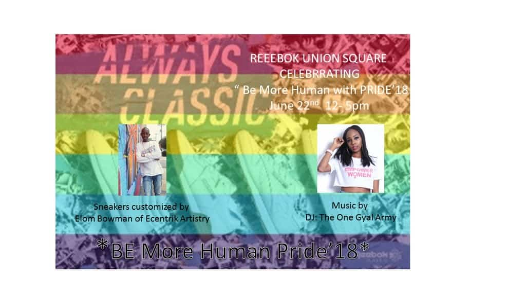 Reebok Union Square Celebrates Gay Pride